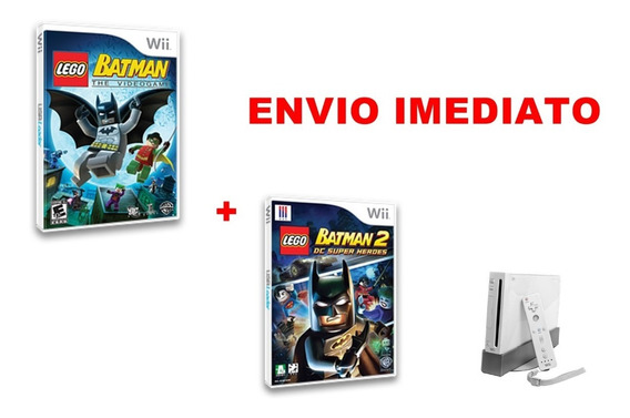 Lego Batman 1 E 2 Nintendo Wii - Mídia Digital
