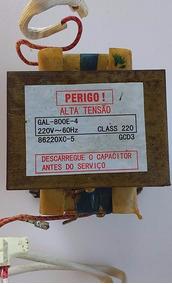 Transformador Trafo Microondas Durabrand Gal-800e-4 220v