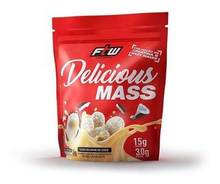 Delicious Mass 3kg (3000g) C/ Waxy Maize E Creatina Ftw
