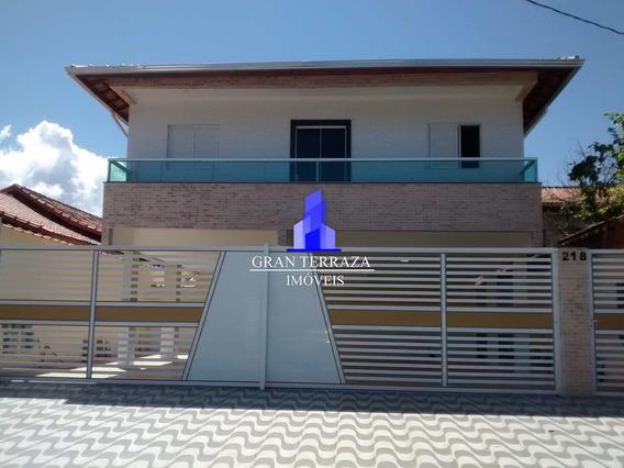Casa Com 2 Dorms, Jardim Guaramar, Praia Grande - R$ 165 Mil, C - V435