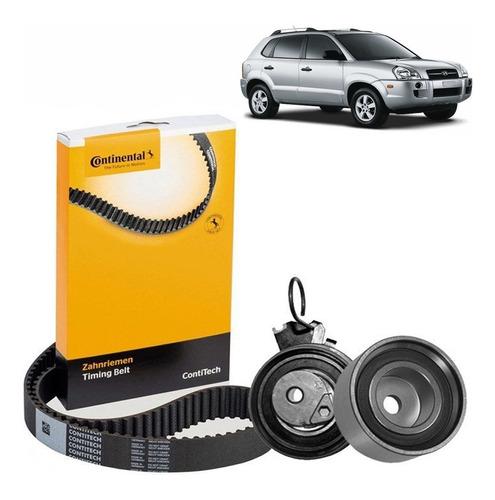 Kit Tensor Polia Correia Dentada Hyundai Tucson 2.0 16v 06/.