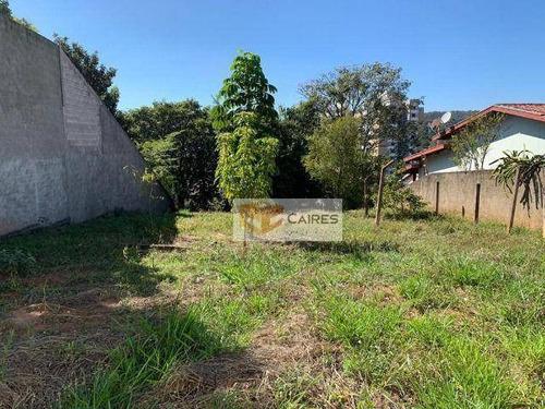 Terreno À Venda, 515 M² Por R$ 480.000,00 - Vila Clayton - Valinhos/sp - Te0717