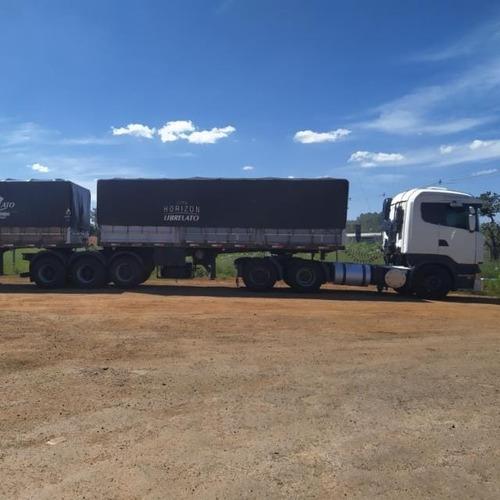 Imagem 1 de 4 de Conjunto Scania R480 Highline 6x4 +rodotrem 3x3 Curto Randon