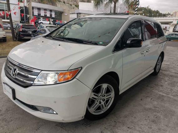 Honda Odyssey 5p Touring Minivan Aut Piel Cd Q/c Dvd