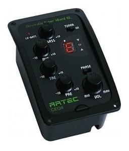Preamp Eq Guitarra Artec Ceq-4 + Sf-617 Micrófono Afinador