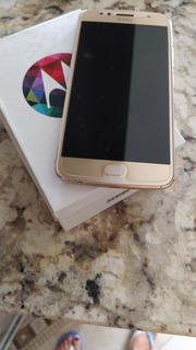 Celular Moto G5s 32gb Muito Bem Conservado Dourado