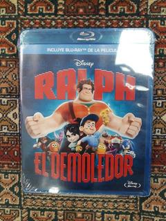 Blu Ray - Nuevo Original -ralph El Demoledor -oferta $100 *1
