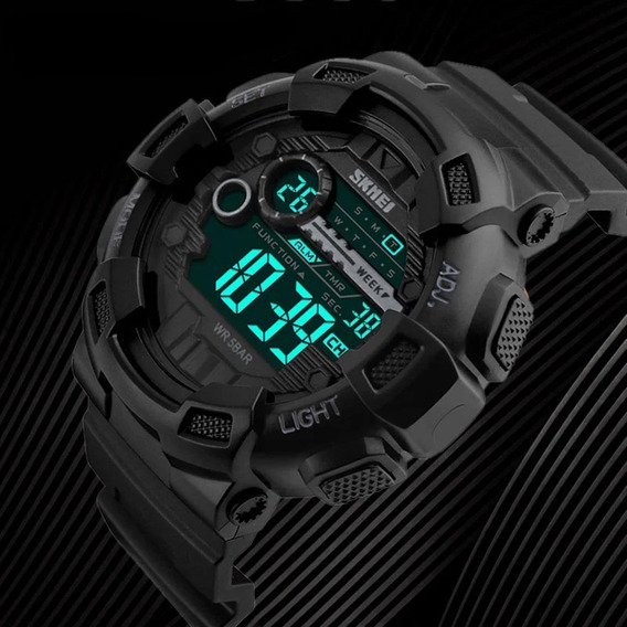 Relógio Masculino Militar Esportivo Digital A Prova D