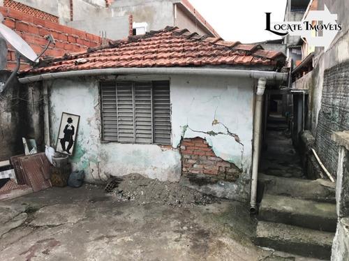 Casa Antiga Com Ótimo Terreno A Venda Em Guaianases - Ca00057 - 69232694