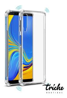 6.4 OWKEY Funda Samsung Galaxy A50//A30S //A50S,Carcasa Samsung A50 Antigolpes Transparente,Case Samsung A50 360/° Anti Choque+Protector Pantalla Integrado para Samsung Galaxy A30S//A50 //A50S