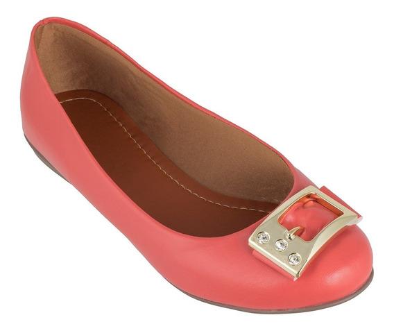 Sapatilhas Femininas Rasteira Rasteirinha Pink Sapato Sxl