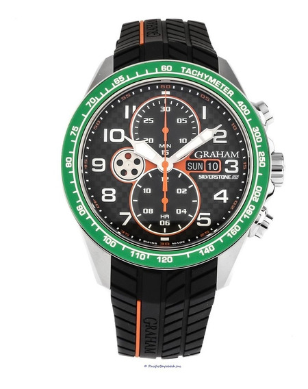 Original, Novo, Top Relogio Graham Silverstone Rs Racing