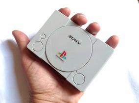 Playstation 1 +100 Jogos Na Memória+2 Controles Sem Fio 64gb