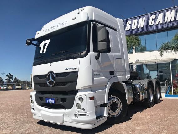 Mb Actros 2546, 6x2, 2017 Nilson Caminhões 4626