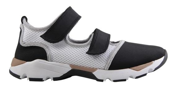 Tênis Carrano Chunky Sportiv Colmeia Velcro Feminino 160405