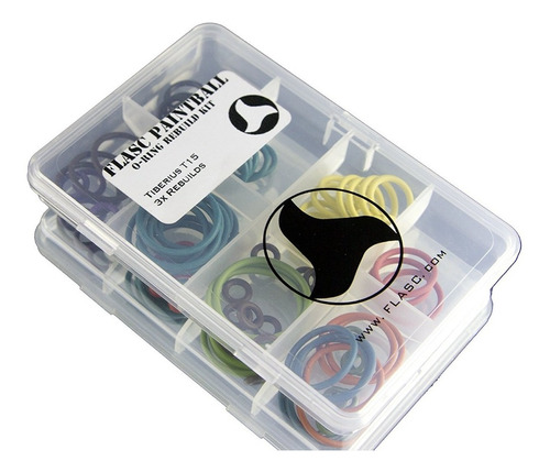 Tiberius T15 3x Color Paintball O Ring Kit De Reconstrucc...