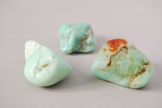 Piedra Crisoprasa Rolada Nro. 4