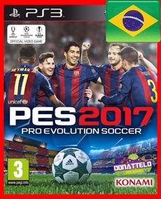 Pes 17 Pro Evolution Soccer 2017 Jogos Ps3 Psn