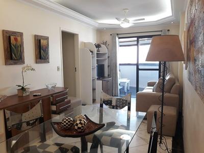 Apartamento Em Praia Das Pitangueiras, Guarujá/sp De 81m² 2 Quartos Para Locação R$ 3.000,00/mes - Ap224483