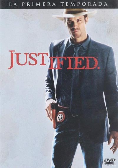 Justified Primera Temporada 1 Uno Serie Dvd