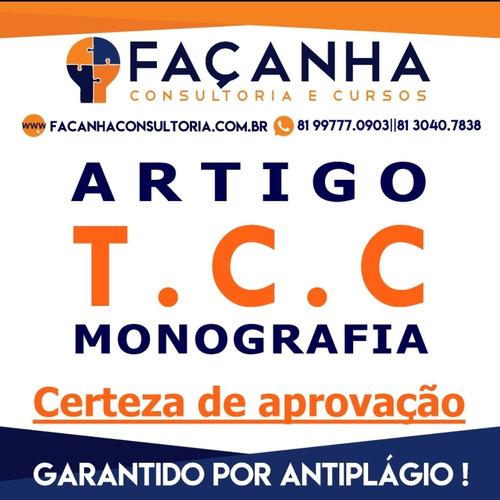 Consultoria Educacional Especializada Em Tcc/monografia