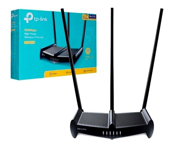 Router Tp-link Wr941hp 941hp 450 Mbps Wifi Rompemuros V2.0