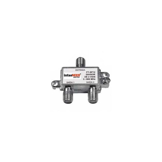 Kit C/ 10 Divisor 1:2 Corpo Metal 5a 900mhz Interneed