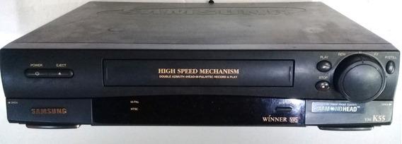 Aparelho Dvd Player Samsung Vm-k55 C/controle