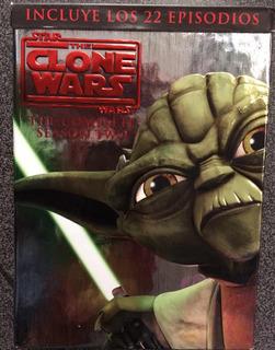 Star Wars Clone Wars Temporada Uno, Dvd En Excelente Estado