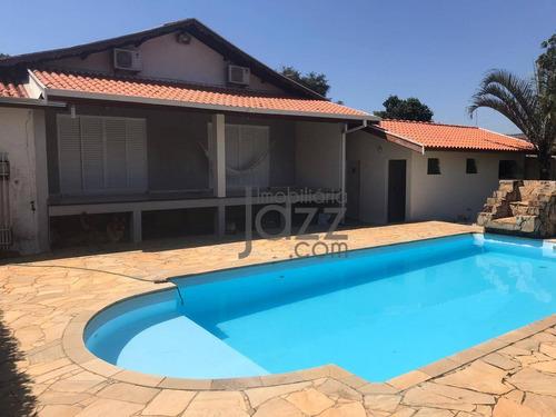 Fantástica Chácara Com 3 Dormitórios À Venda, 1250 M² Por R$ 1.200.000 - Chácara Recreio Alvorada - Hortolândia/sp - Ch0198