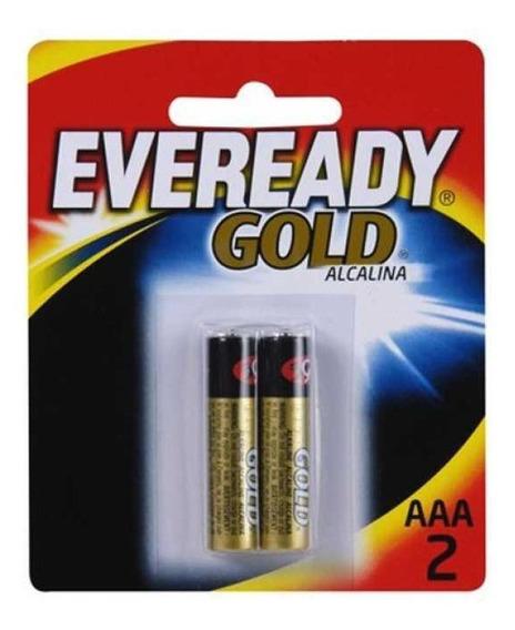 Pilha Eveready Alcalina Gold Palito Aaa (dupla)