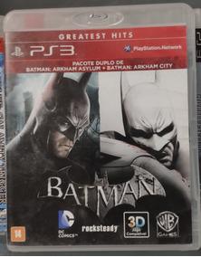Batman Arkham Asylum E City® -ps3 - Mídia Física Frete R$10