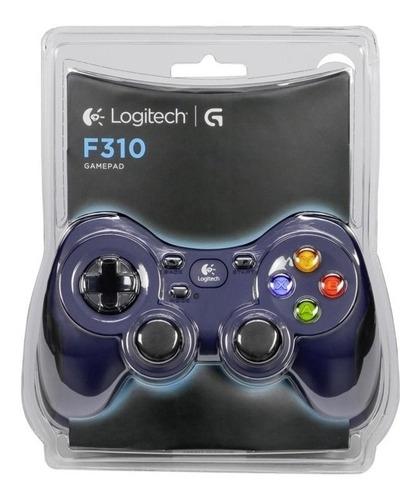 Control Gamepad Logitech F310 Cableado Usb, Steam, Andoid Tv
