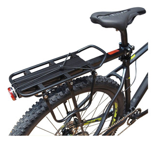 Portaequipaje Bicicleta Aluminio Todos Rodados Hasta 50 K