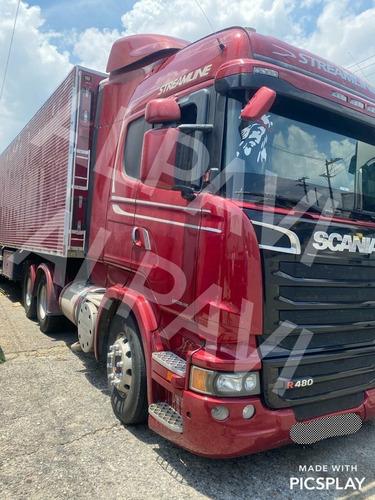 Cavalo 6x2 Scania R 480 2014 Streamline