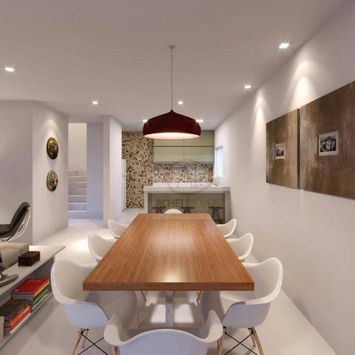 Imagem 1 de 19 de Casa Com 3 Dormitórios À Venda, 176 M² Por R$ 799.000,00 - Ponta Da Praia - Santos/sp - Ca1508