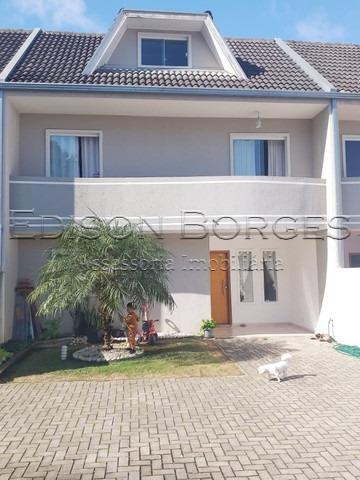 Sobrado Em Condomínio Com 3 Dormitórios À Venda Com 128m² Por R$ 450.000,00 No Bairro Tingui - Curitiba / Pr - Eb+10515