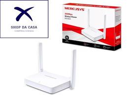 Kit 10 Roteador Mercusys Mw301r 300mbps 2 Antenas Envio 24hs