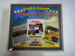 Mariachi Vargas De Tecalitlan Tesoros De Coleccion 3cd 2017