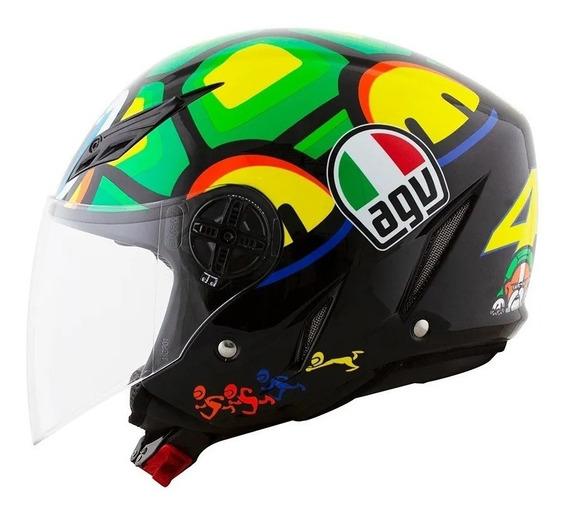 Capacete Agv Blade Turtle Tartaruga Valentino Rossi 59-60/l