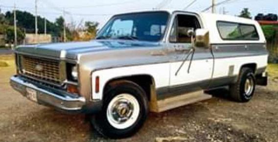 Chevrolet Cheyenne Camper Special