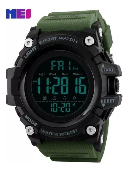 Relógios Masculino Digital Skmei 1155 Original Prova D,água