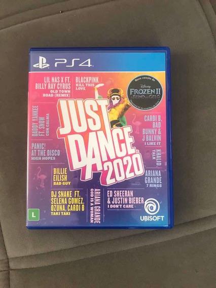Jogo Just Dance 2020 Em Mídia Física Seminovo Para Ps4