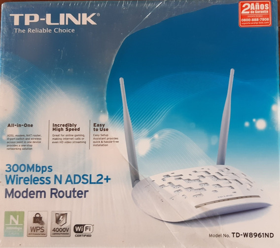 Modem Router Adsl2+ Tp-link