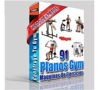 Gym Planos Gimnasios Maquinas Ejercicio Construir 91 Equipos