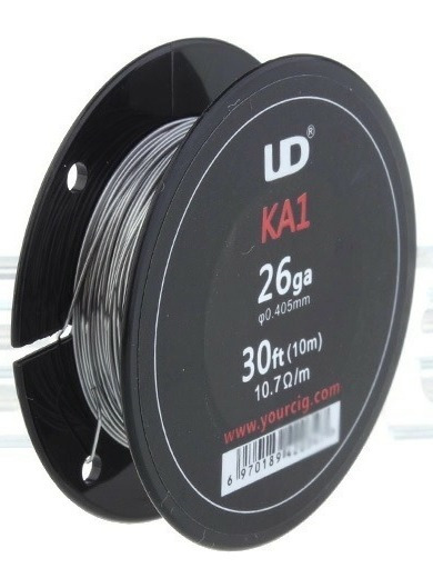 Fio Wire Coil Kanthal A1 26awg - 10 Metros