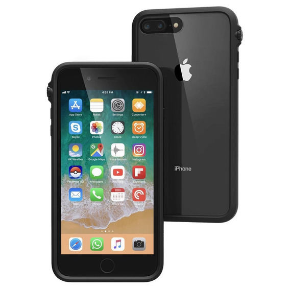 Protector Carcasa iPhone 8 Plus Catalyst Impact Case Black