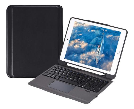 Capa Para iPad Com Teclado Sem Fio Touch Pad Suporte Para
