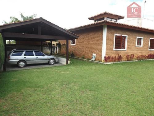 Casa Com 4 Dormitórios À Venda, 300 M² Por R$ 900.000,00 - Monte Catine - Vargem Grande Paulista/sp - Ca0486