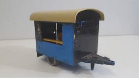 Playmobil - Trailer Do Circo Azul Anos 80 P/ Restauro Ou Pçs